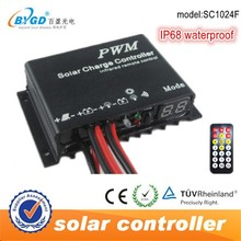 SDN Series Waterproof Solar Charge Controller with Built in LED Driver for Dimming