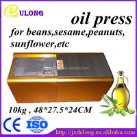 wholesales and retailers full automatic mini cold press oil machine