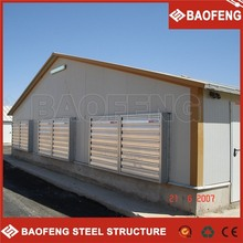 big span strong insulation capability baby sheds