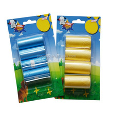 Blister packing wholesale eco friendly pet waste roll bag