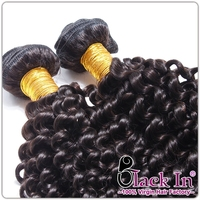 Kinky Curl 16 Inch Natural Black 3 Piece/Set Top Quality Indian Human Hair