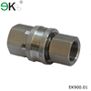 American style steam straight through flexible spring hose hydraulic couplings