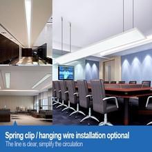 3000x100mm big led panel light for office shop
