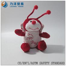 plush birds/flying animals/white bee, Customised toys,CE/ASTM safety stardard