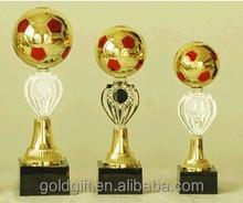 Barato troféu para o futebol competição prêmio