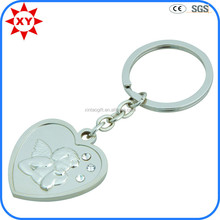 Keychain manufacturers supplyheart shape key chain for wedding gift