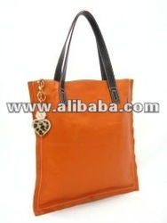 New Style Fashion Ladies Double Straps Rectangle Leather Bag