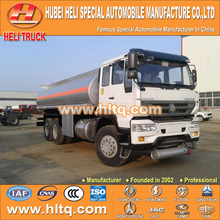 SINOTRUK 6X4 22000L fuel tanker truck with oil pump hot sale in China