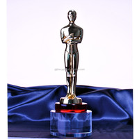 Aliexpress Chinese Golden figurine metal buy oscar trophy