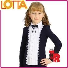 OEM high quality super children latest factory price girls school uniforms colours