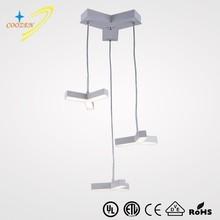 GZ30019-3P LED chandelier chrome acrylic pendant lamp modern adjustable led indoor light