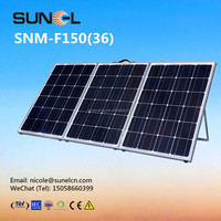 Foldable solar panel 150w OEM acceptable