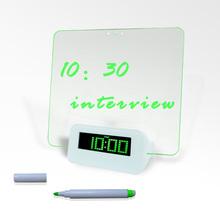 LED clock with luminous dial