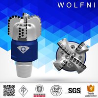 Wolfni hot sale well drill bit pdc oil well drilling bits prices for sandstone drilling