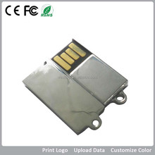 mini metal key ring usb disk with fast delivery