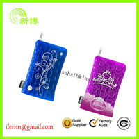 cute 3d glow in the dark silicone cell phone case