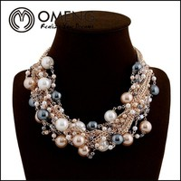 2015 Wholesale Pearl Necklace Cheap Price In Stock Manufacture Factory