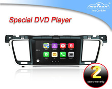 7 inch touch screen car dvd gps for Peugeot 508 GPS/Radio/BT/3G/Phonebook/mp4/mp5/TV/PIP