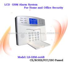 control de app para casa de seguridad inalámbrica gsm sistema de alarma antirrobo
