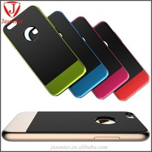 2015 mobile accessories custom Ultra-thin design Tpu+pc mobile phone cover cell phone case for iphone 6 plus