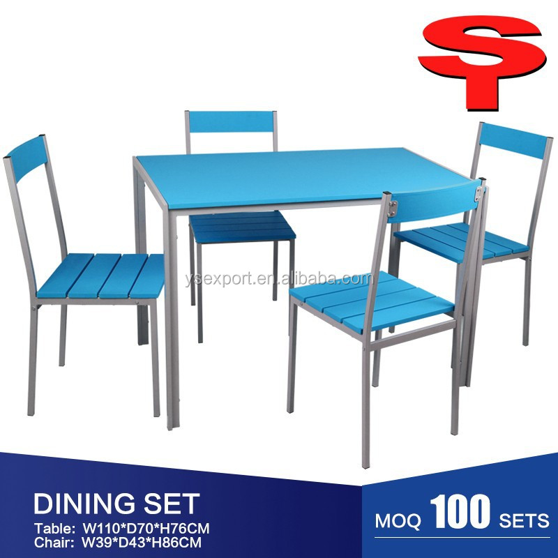 Hot Sale Colorful MDF Board Dining Table
