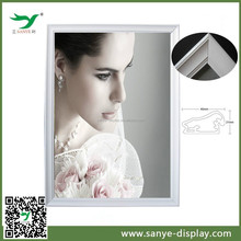 hot sale manufacturer snap four side 20 x 30 silver frame