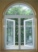 Stylish Sliding Aluminium/PVC door/window with double glazing