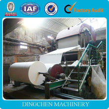 2014 the best selling products made in China,1880mm Zhengzhou City 5tons per day Toilet Paper Machine