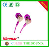 Kimmar Top 10 Stereo Earphones With Heart-Shaped for Girls with Mic