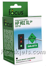 HP 02 and 02XL Inkjet Cartridge Remanufactured