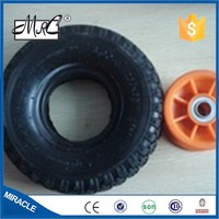 MRC high quality 10 Inch small pneumatic wagon tyre rubber wheelbarrow wheel tire 3.00-4