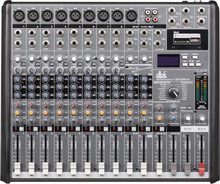16 channels professional audio sound system power sound mixer EG1622SD