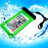 smart phone pvc waterproof bag with string for beach for iphone 6