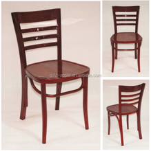 Used Restaurant Furniture, Metal Wood Grain Restaurant Chair