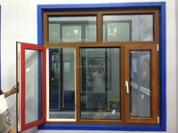 Safe aluminum alloy windows and doors made in china