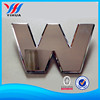 Hign quality ABS plastic chrome car emblem