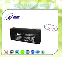 Factory direct sale 12v2ah sealed lead acid battery for telecommunication equipment with low price