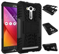 2015 PUDINI Accept OEM Shockproof Hybrid TPU + PC Armor Mobile Phone Hybrid Case For ASUS ZenFone 2 Laser ZE550KL