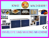 XINKE Supplier New High Quality Automatic Hot Sealing and Cutting Shockproof Kraft Paper Laminated poly bubble mailer machinery