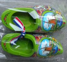 6cm decorative holland shoe duch shoe ribbon klomps shoe for home decor