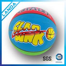 custom Basketball standard size 7 rubber material
