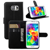 Stand wallet leather case for Samsung Galaxy S6 G920F 9 Color stock offer