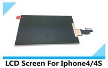 Negro Pantalla blanco LCD del reemplazo para Iphone4/4S