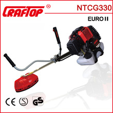 32cc backpack gasoline grass edge cutter with CE EUROII certificate