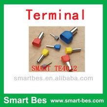 Smart Bes High Quality!! crewel tube pre-insulation terminal ,press terminal TE7508 insulated terminal