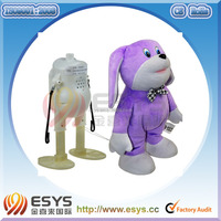 Stuffed animal cute plush toy with printing logo clothes