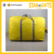 Factory price fashion outdoor custom polyester folding duffle bag