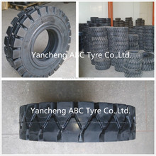6.50-10 XZ01 Forklift solid tyres, Pneumatic solid tyre, solid resilient tyres XZ01