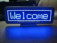 USB cable LED desk board/led table sign