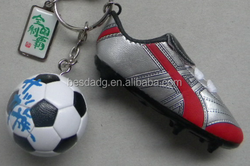 China Mini running soccer sneaker shoes keychain